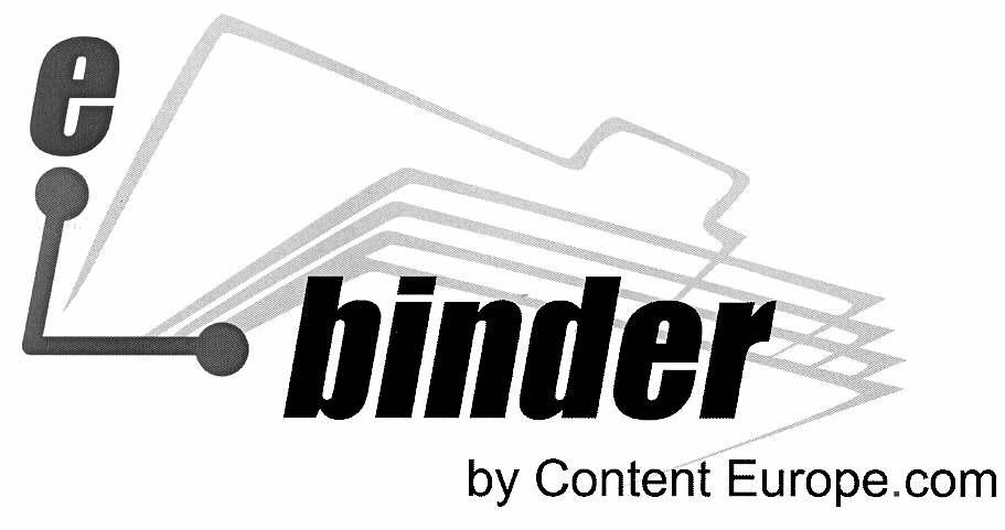 e-binder by Content Europe.com