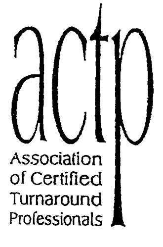 actp Association of Certified Turnaround Professionals