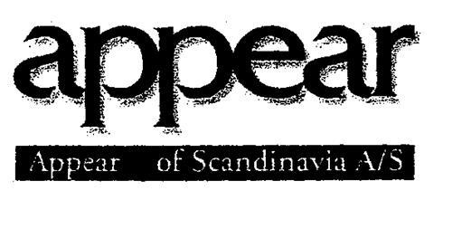 appear Appear of Scandinavia A/S