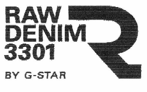 RAW DENIM 3301 BY G-STAR