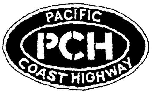 PCH PACIFIC COAST HIGHWAY