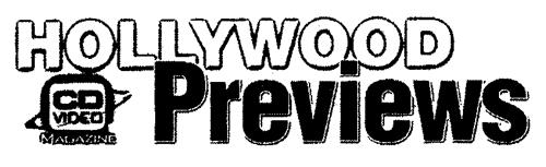 HOLLYWOOD Previews CD VIDEO MAGAZINE