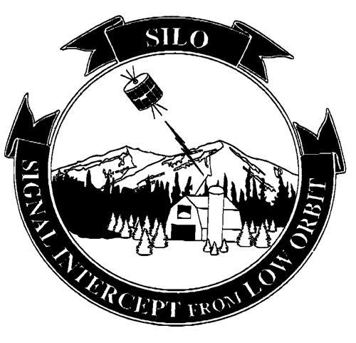SILO SIGNAL INTERCEPT FROM LOW ORBIT