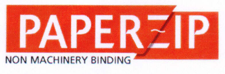 PAPERZIP NON MACHINERY BINDING