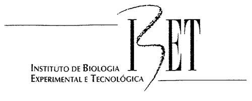 IBET INSTITUTO DE BIOLOGIA EXPERIMENTAL E TECNOLÓGICA