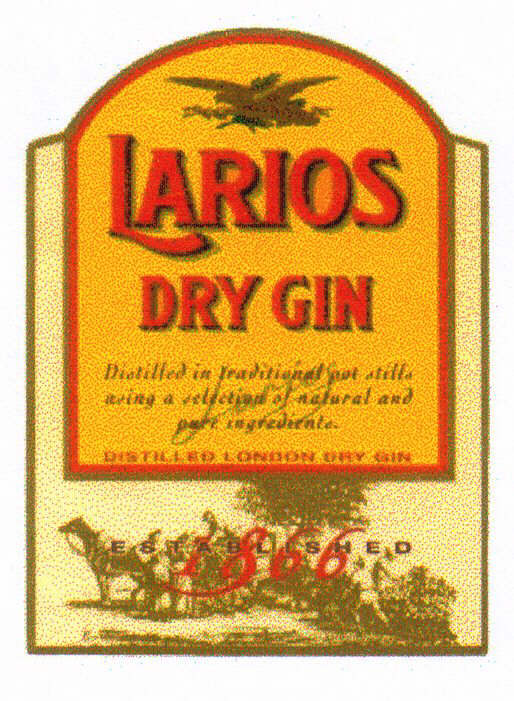 LARIOS DRY GIN