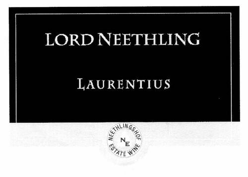 LORD NEETHLING LAURENTIUS NEETHLINGSHOF NE ESTATE WINE