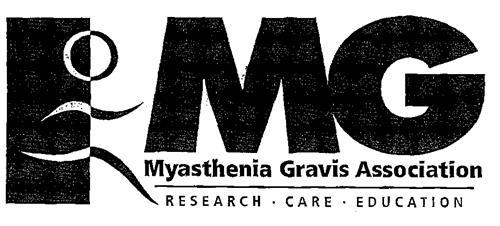 MG Myasthenia Gravis Association RESEARCH. CARE. EDUCATION
