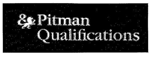 Pitman Qualifications