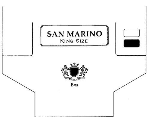 SAN MARINO KING SIZE Box