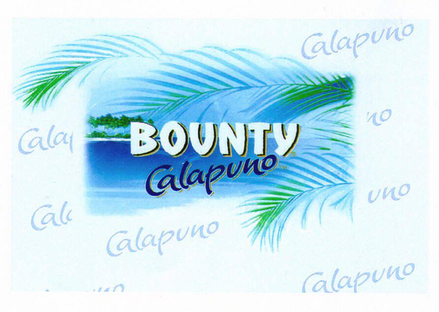 BOUNTY Calapuno