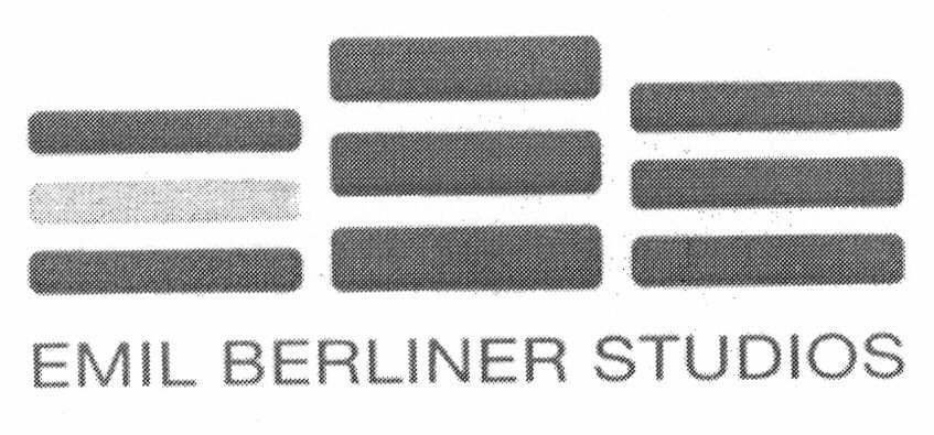 EMIL BERLINER STUDIOS