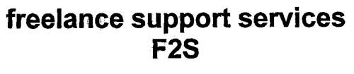freelance support services F2S