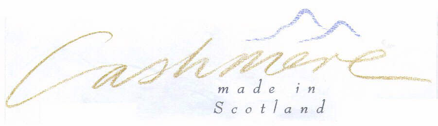 Cashmere made in Scotland