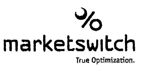 % marketswitch True Optimization.