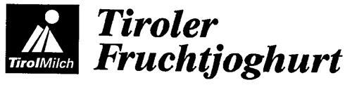Tirol Milch Tiroler Fruchtjoghurt