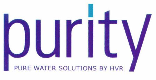 purity PURE WATER SOLUTIONS BY HVR