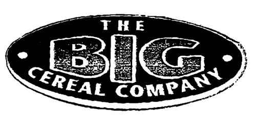 THE BIG CEREAL COMPANY