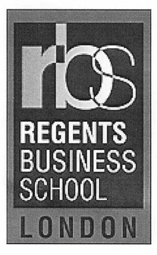 rbs REGENTS BUSINESS SCHOOL LONDON