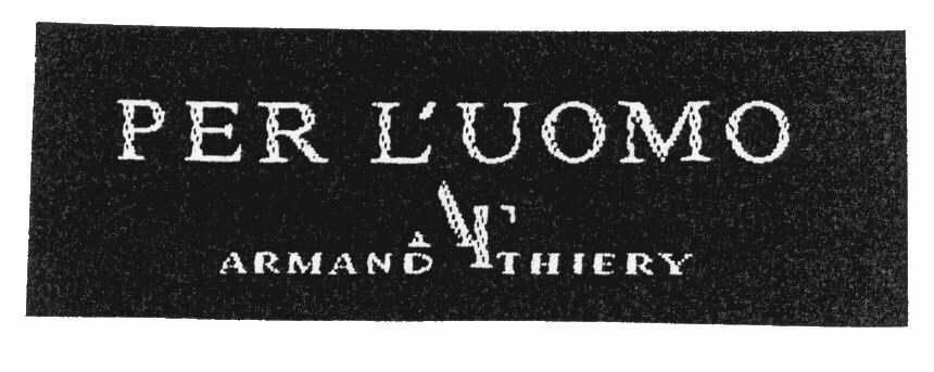 PER L'UOMO AT ARMAND THIERY