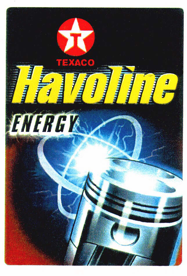 T TEXACO Havoline ENERGY