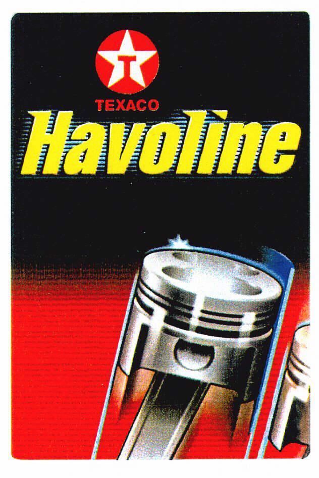 T TEXACO Havoline