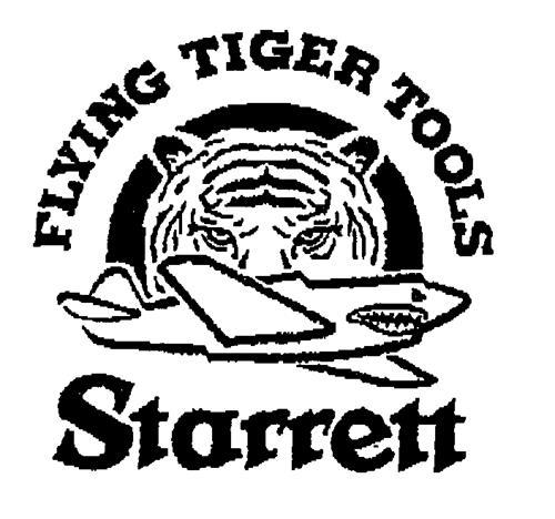 Flying Tiger Tools Starrett