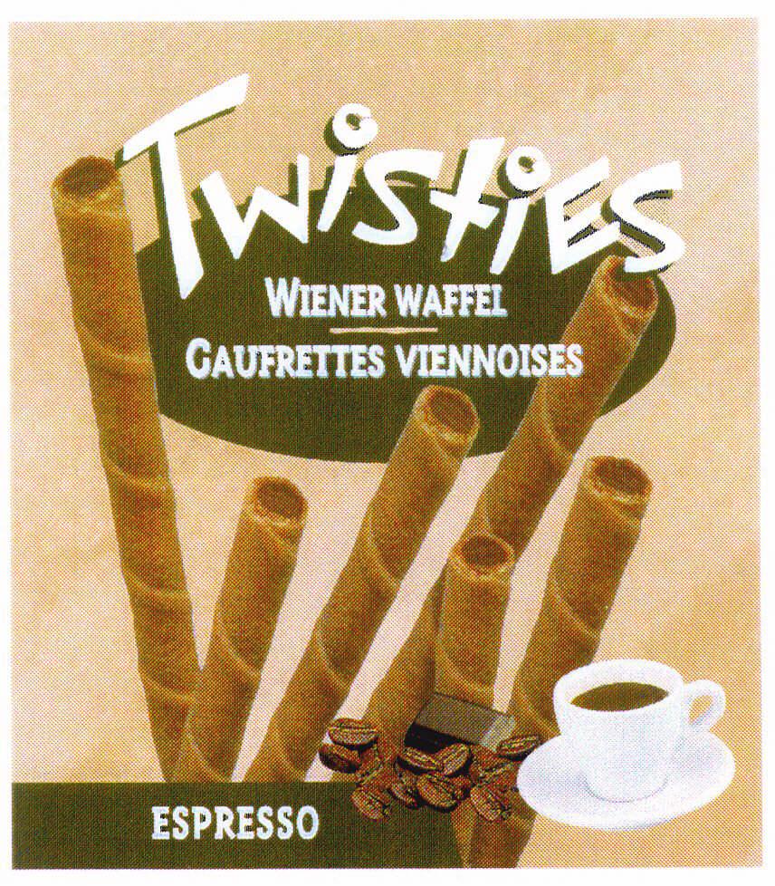 Twisties WIENER WAFFEL - GAUFRETTES VIENNOISES ESPRESSO
