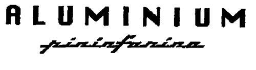 ALUMINIUM pininfarina