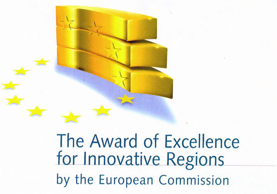 The Award of Excellence for Innovative Regions by the European Commission