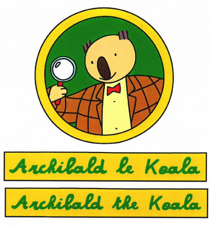 Archibald le Koala Archibald the Koala