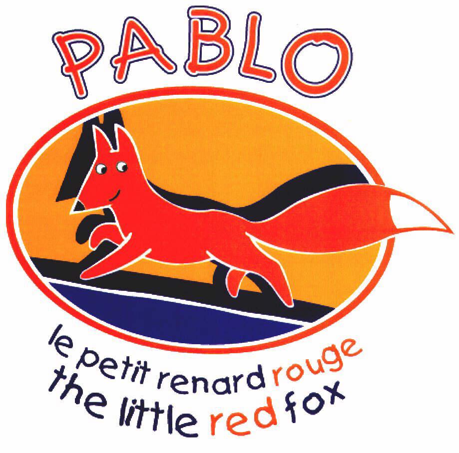 PABLO le petit renard rouge the little red fox