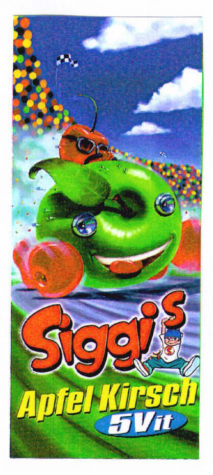 Siggi's Apfel Kirsch 5Vit