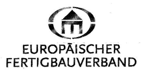 EUROPÄISCHER FERTIGBAUVERBAND