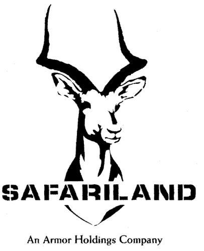 SAFARILAND An Armor Holdings Company