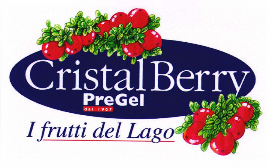 Cristal Berry dal 1967 PreGel I frutti del Lago
