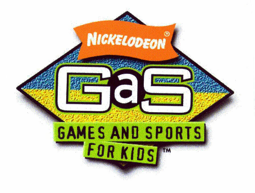 NICKELODEON GAS GAMES AND SPORTS FOR KIDS