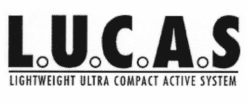 L.U.C.A.S LIGHTWEIGHT ULTRA COMPACT ACTIVE SYSTEM