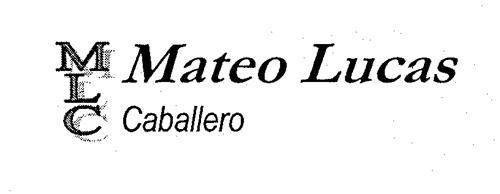 MLC Mateo Lucas Caballero
