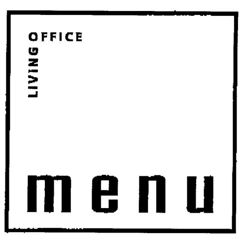 LIVING OFFICE menu