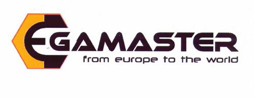 EGAMASTER from europe to the world