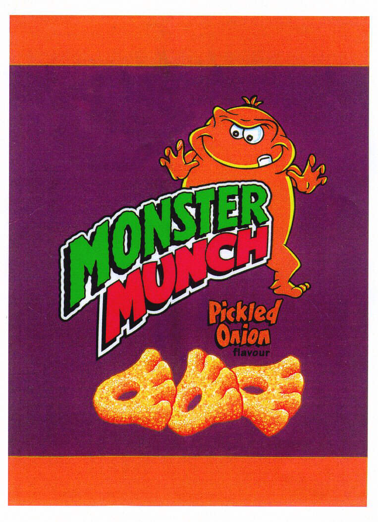 MONSTER MUNCH Pickled Onion flavour