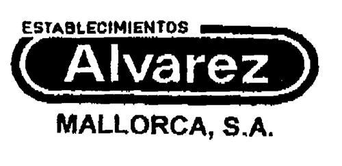 Alvarez ESTABLECIMIENTOS MALLORCA, S.A.