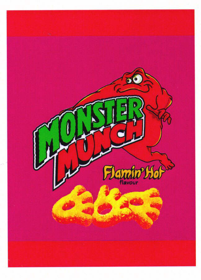 MONSTER MUNCH Flamin'Hot