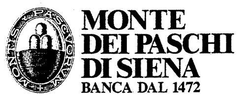 MONTE DEI PASCHI DI SIENA BANCA DAL 1472 MONTIS PASCVORVM