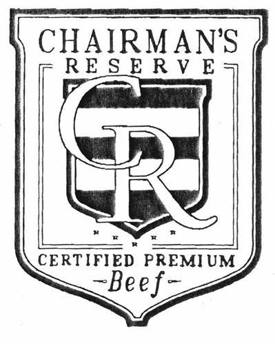 CHAIRMAN'S RESERVE CR CERTIFIED PREMIUM Beef