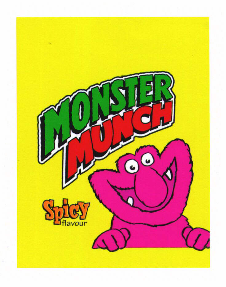 MONSTER MUNCH Spicy flavour
