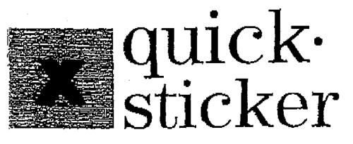 quick sticker