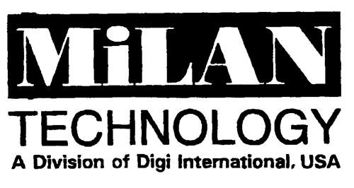 MiLAN TECHNOLOGY A Division of Digi International, USA