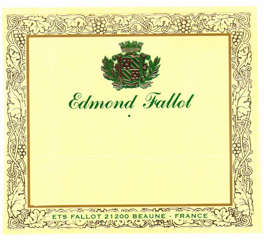 Edmond Fallot ETS FALLOT 21200 BEAUNE - FRANCE